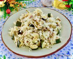 Riso Basmati - Come cucinare il riso basmati modi e tempi - Pins Rice Recipes, Healthy Recipes, Healthy Meals, Couscous, Fitness Diet, Pasta Salad, Potato Salad, Cauliflower, Zucchini