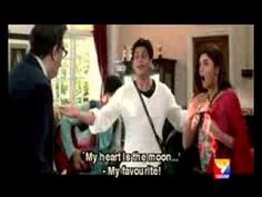 SRK singing a song (comedy scene frm main hon na)