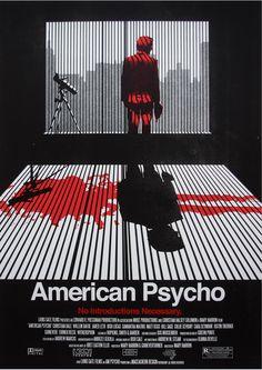 American Psycho (Mary Harron, 2000) - poster by Ryan MacEachern
