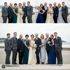 Wedding at Easton's Beach Rotunda Ballroom in Newport RI Photos By Alicia Petitti Photography , New England Wedding photographer