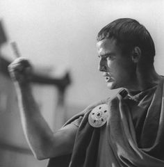 Marlon Brando in Julius Caesar (Joseph L Mankiewicz, 1953)