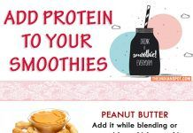 WAYS TO ADD PROTEIN TO YOUR SMOOTHIE