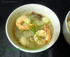 Variadas recetas china