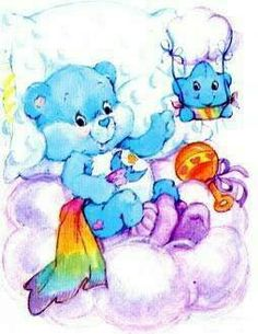 cartoons aesthetic Care Bears: Baby Bedtime Be - Cute Images, Cute Pictures, 80s Characters, Care Bears Vintage, Baby Bedtime, Rainbow Brite, Kawaii, Bear Wallpaper, Bear Art