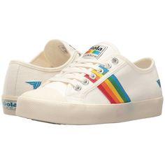 Gola Coaster Rainbow (Off-White/Multi) Women's Shoes ($65) ❤