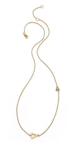 Jennifer Zeuner Jewelry Sasha Diamond Necklace | SHOPBOP