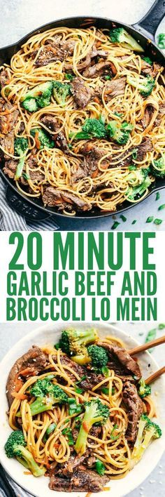 20 Minute Garlic Bee