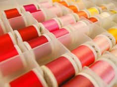 Organization Ideas for Sewing Supplies