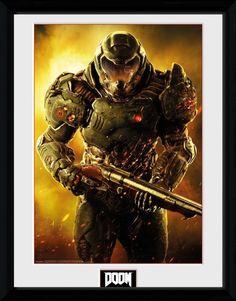 Doom Marine Collector Print