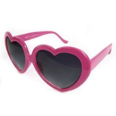 Heart-shaped child's glasses in hot pink. Perfect for a kid with flare. One size fits most children. Pink Kids, Pink Child, Hollywood Sweet 16, Limo Party, Spa Party, Heart Shaped Glasses, Rocker Look, How To Be Graceful, Lolita