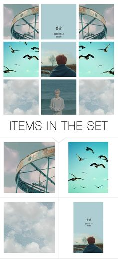 """BTS Spring Day ~"" by bulletproof-girl-scout ❤ liked on Polyvore featuring art"