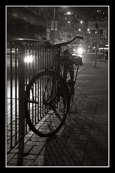 Parked Bike #bicycle