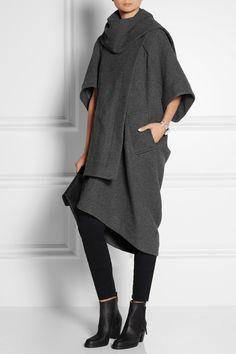Vivienne Westwood Anglomania | Manteau façon plaid en laine mélangée côtelée | NET-A-PORTER.COM