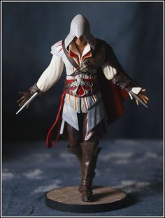 Ezio from the Assassin's Creed 2 Master Assassin's Edition.