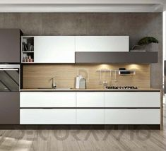 #kitchen #design #interior #furniture #furnishings  комплект в кухню Arredo3 Plana, AP2WG