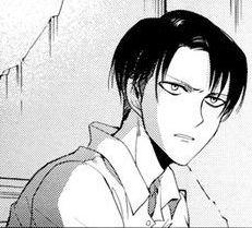 ahh I love Levi in the acwnr manga c;