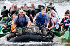 Boat, Teamwork, Training, Exercise