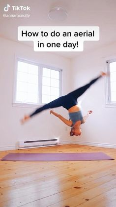 Gymnastics For Beginners, Gymnastics Tricks, Gymnastics Skills, Easy Gymnastics Moves, Gym Workout Videos, Gym Workout For Beginners, Fitness Workout For Women, Gym Workouts, Gymnastics Stretches
