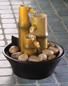DIY Fountain : DIY Tabletop Fountains
