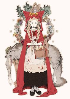 """Little Red Riding Hood"" by Ryota-H*   • Blog/Website 