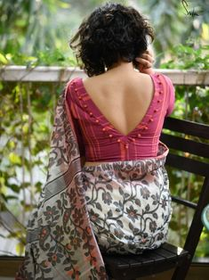Blouse Designs: Blouse designs imagesAre you searching for the best blouse design images to get beautiful ideas that how to make different designs?So here we have tons of collections of blouse designs different types of patterns and. Indian Blouse Designs, Cotton Saree Blouse Designs, Best Blouse Designs, Simple Blouse Designs, Stylish Blouse Design, Blouse Back Neck Designs, Pattern Blouses For Sarees, Saree Blouse Patterns, Latest Design Of Blouse