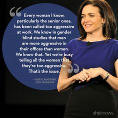 20 powerful quotes from amazing women around the world: Sheryl Sandberg