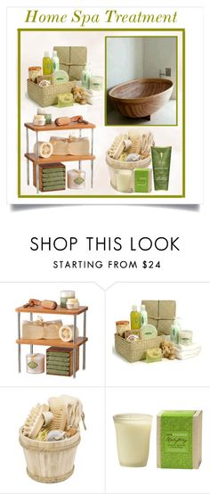 """""""Home Spa Treatment"""" by conch-lady ❤ liked on Polyvore featuring beauty, Lynk, CO, Sagaform and RAHUA"""