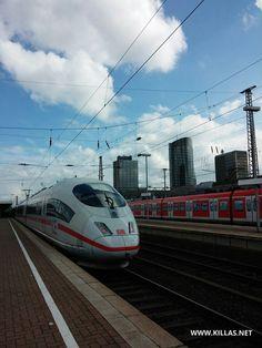 #ICE #Bahnhof #Dortmund #Hochhaus #Gleis