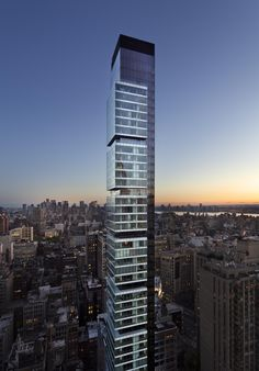 One Madison designed by CetraRuddy (view against New York's skyline)