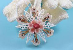 Seashell Ornament Beach Decor Christmas by TheSleepySeahorse
