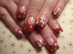 Christmas dots - Nail Art Gallery by nailsmag.com