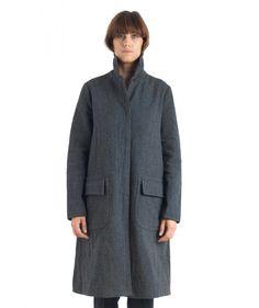 Capospalla Parigina Murazzi Dark Grey - Coats - Women - Shop