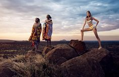 Vogue Japan Editorial | African Vibration -