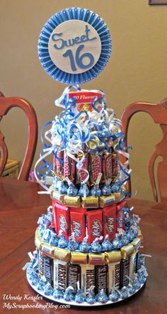 Candy Cake by Wendy Kessler