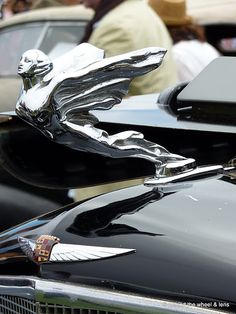 classic hood ornaments vintage 41 cadillac flying lady. Black Bedroom Furniture Sets. Home Design Ideas