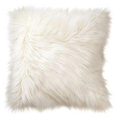 Home Fur Toss Pillow - Cream - $20.    http://www.target.com/p/home-fur-toss-pillow-cream/-/A-14055671?reco=Rec pdp 14055671 ClickCP item_page.vertical_1=Rec pdp ClickCP item_page.vertical_1
