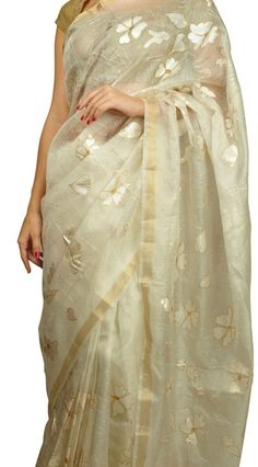 #Elegant hand painted kota #Silk #Saree <3