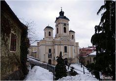 Banská Štiavnica - kostol Nanebovzatia Panny Márie