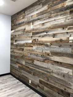 For The Home Reclaimed California Redwood Wall Planks Using The Sun To Cut Pool Heating Costs One of Pallet Wall Bedroom, Diy Pallet Wall, Bedroom With Wood Wall, Plank Wall Bedroom, Wood Pallet Flooring, Pallet Tv, Wooden Accent Wall, Reclaimed Wood Accent Wall, Pallet Accent Wall