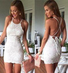 Lace Fashion Solid Color Bodycon Dress