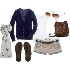 Navy, created by rachel-norris on Polyvore... love love love