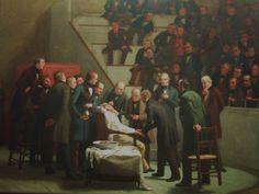 """La primera operación con éter (""""The first operation with ether""""). Robert C. Hinckley. 1882. Localización: Contway Library of Medicine (Boston) https://painthealth.wordpress.com/2015/11/13/la-primera-operacion-con-eter/"""