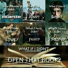 Read Chapter Twenty Three from the story Percy Jackson: Grandson of Voldemort by with reads. Maze Runner Quotes, The Maze Runner, Fandom Quotes, Funny Divergent Quotes, Divergent Fanfiction, Divergent Hunger Games, Harry Potter Jokes, Book Memes, Book Of Life