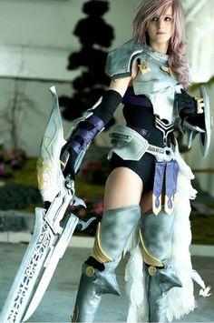 final fantasy cosplay   Final Fantasy Cosplay: Cool Final Fantasy XIII-2 Lightning Cosplay