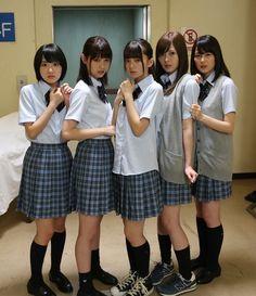 日々是遊楽也 Cute School Uniforms, School Uniform Girls, Girls Uniforms, Beautiful Japanese Girl, Beautiful Asian Women, Cute Asian Girls, Cute Girls, School Girl Japan, Girl Outfits