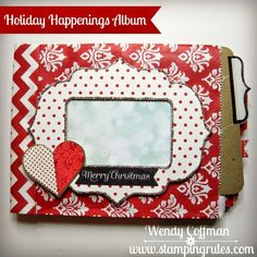 Stamping Rules!: Holiday Happenings Mini Album Kits