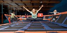 Looking for some fun for the #kids? Check out SkyZone in Kentwood!
