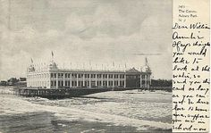 The Casino Asbury Park, 1906 Antique American Postcards - New Jersey