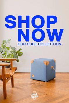 Die Sitzwürfel von Hardcrafted Hamburg werden aus Vintage-Turnmattenbezügen und patiniertem Turngeräte-leder in Deutschland handgefertigt! Entdecke unsere Cube-Serie sowie weitere Turngeräte-Möbel auf hardcrafted.de.