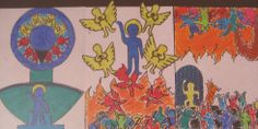 L., vwo 5, 'Last judgement, Keith Haring style'